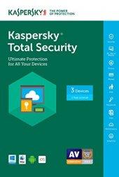 Kaspersky Total Securıty 3 Kul 1 Yıl