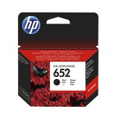 HP 652 F6V25A SİYAH KARTUŞ 360 SAYFA (1115-2135-3635-3835-4535-4675)