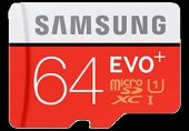 Samsung 64gb Evo Plus 100mb S Class 10 Uhs I Micro Sd Kart Mb Mc64ga Tr