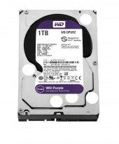 """WD 1TB Purple Sata 3.0 5400RPM 64MB 3.5"""" Dahili Güvenlik Diski WD10PURZ"""