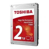 "TOSHIBA 2TB P300 Sata 3.0 7200RPM 64MB 3.5"" Masaüstü Dahili Disk HDWD120UZSVA"