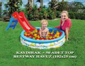 Bestway 102x25 Cm Havuz Çocuk Kaydırağı 50 Adet...