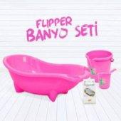 Flipper 4lü Küvet Seti Küvet Kova Maşrapa File...