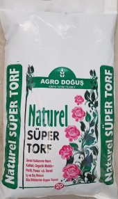 Yerli Torf 20 Litre Çiçek Toprağı Fide Toprağı Yer...
