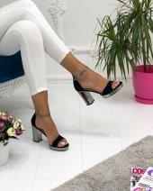 Oc Shoes High Heel Kalın Topuklu Kadın Ayakkabı...