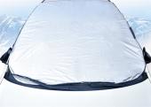 Güneş Kar Buz Önleyici Ön Cam Kenar Koruyuculu Örtü Yarım Branda-3