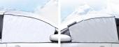 Güneş Kar Buz Önleyici Ön Cam Kenar Koruyuculu Örtü Yarım Branda-4