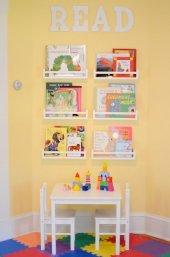 Ceebebek Ahşap Duvar Raf Bebek Çocuk Odası...