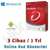 Trend Micro Maximum Security 3 Kullanıcı 3...