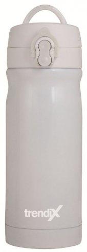 Trendix Çelik İçli 350 ml Termos Matara (Beyaz)