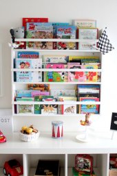 Ceebebek Ahşap Raf Montessori Bebek Çocuk Odası Ki...