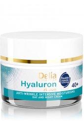 Delia Hyaluron Kırışıklık Karşıtı 50Ml Gece ve Gündüz Kremi 40+-2