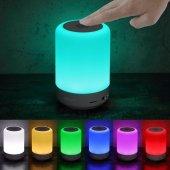 Dikaou Led Işıklı Led Göstergeli Taşınabilir...