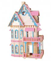Piramigo 3d Puzzle Büyük Maket Ev Gothic House Pembe Şato