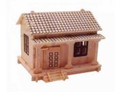 Piramigo 3d Puzzle Maket Boyanabilir Wakoutaku Ev