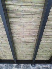 Bambu Cit 2x4,5 9 M2 Kamış Çit Dekoratif Çit Rulo ...