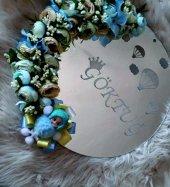 Dekoratif Aynalı Pleksi Çocuk Odası Kapısüsü (Lazer Kesim & Kazıma)