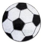 Kaymaz Taban Halı Futbol Topu Desenli 100x100...