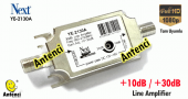 Next Ye 2130 Ayarlı Anten Kablo Sinyal Yükseltici 30db