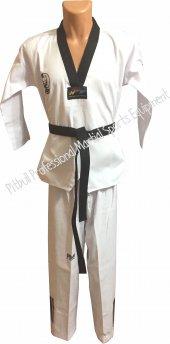 Siyah Yaka Taekwondo Elbisesi Siyah Kemer...