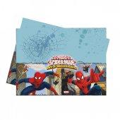 Spiderman Plastik Masa Örtüsü