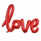 Love İmza Folyo Balon 108*65 cm