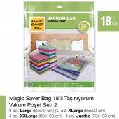 MAGIC SAVER BAG 18´li Taşınıyorum Vakumlu Poşet Seti 2