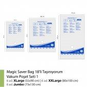MAGIC SAVER BAG 18´li Taşınıyorum Vakumlu Poşet Seti 1-2