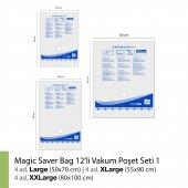 MAGIC SAVER BAG 12li Vakumlu Poşet Seti 1-3