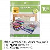 MAGIC SAVER BAG 10lu Vakumlu Poşet Seti 1