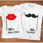 Mr. & Mrs. Sevgili Tişörtü
