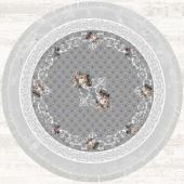 Halı İnci Yuvarlak 150x150 Hld11329.801 (Püsküllü)