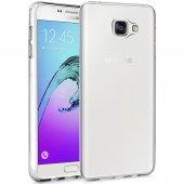 Samsung Galaxy A5 2016 Silikon Kılıf Şeffaf