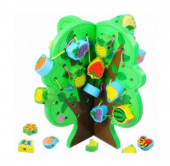 Piramigo İp İle Meyve Dizme Oyun Aktivite Ağacı