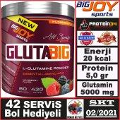 BigJoy Sports GlutaBig Glutamine Powder 420 Gram Big joy Gluta Big Powder-2