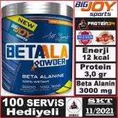 Big Joy Beta Alanine Powder 300 Gr Aromasız Toz Aminoasit Bigjoy
