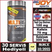Big Joy Multibig 90 Kapsül Multivitamin Vitamin...