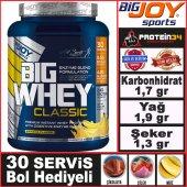 Bigjoy Bigwhey Whey Protein Tozu 990 Gr 30...