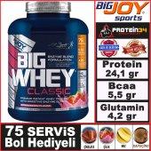 Bigjoy Bigwhey Classic Whey Protein Tozu 2288 Gr 72 Servis 4 Aromalı Big Joy