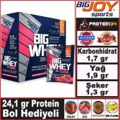 Bigjoy Bigwhey Go Serisi Protein Tozu 68 Tekli Paket Big Joy Sports 4 Aromalı Bol Hediyeli