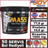 Bigjoy Bigmass Gh Factors Karbonhidrat Tozu...