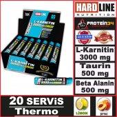 Hardline L Karnitin Matrix 3000 Mg 20 Ampul...