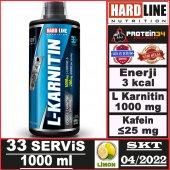 Hardline L Karnitin Sıvı 1000ml 1000 Mg...