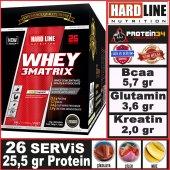 Hardline Whey 3 Matrix 30 Gr*26 Saşe 780 Gr 3matrix Protein Tozu
