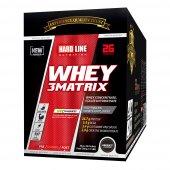 Hardline Whey 3 Matrix 780 Gr 26 Adet X 30 Gr Şase 3matrix Protein Tozu Hardlıne
