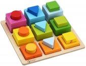 Classic World Ahşap Geometrik Ve Matematik Zeka Oyunu