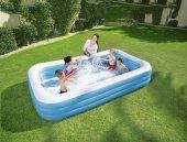 Bestway Jumbo Boy Deluxe Dikdörtgen Şişme Aile Havuzu -54009