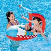 PLAJ TOPU HEDİYE - Bestway Gölgelikli Havuz & Deniz Botu - Baby Float, Bestway 34100 -2