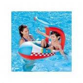 PLAJ TOPU HEDİYE - Bestway Gölgelikli Havuz & Deniz Botu - Baby Float, Bestway 34100 -3