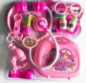 Barbie Saat Hediyeli Çantalı Eğitici 9 Parça...